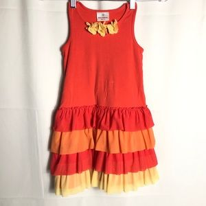 Hanna Andersson tiered dress